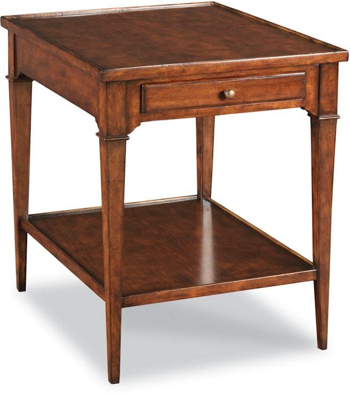 Woodbridge Furniture Living Room Marseille Side Table 1147