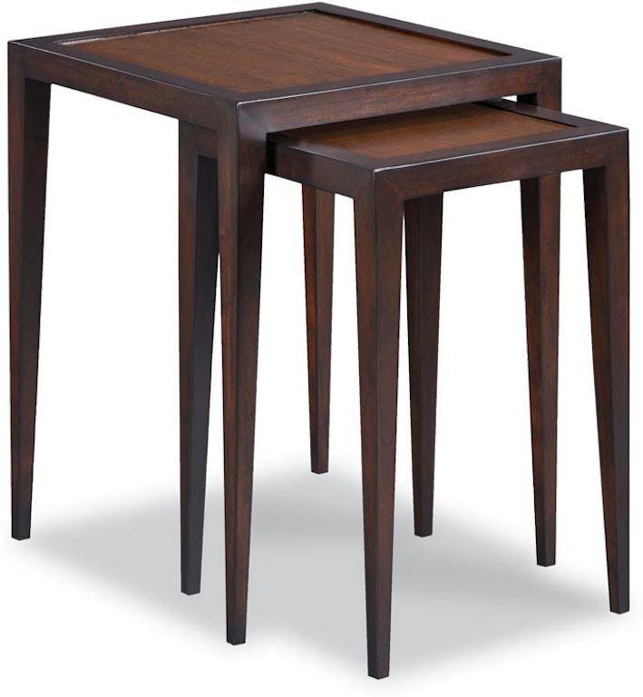 Woodbridge Furniture 1196 05 Living Room Tribeca Nest Of Tables