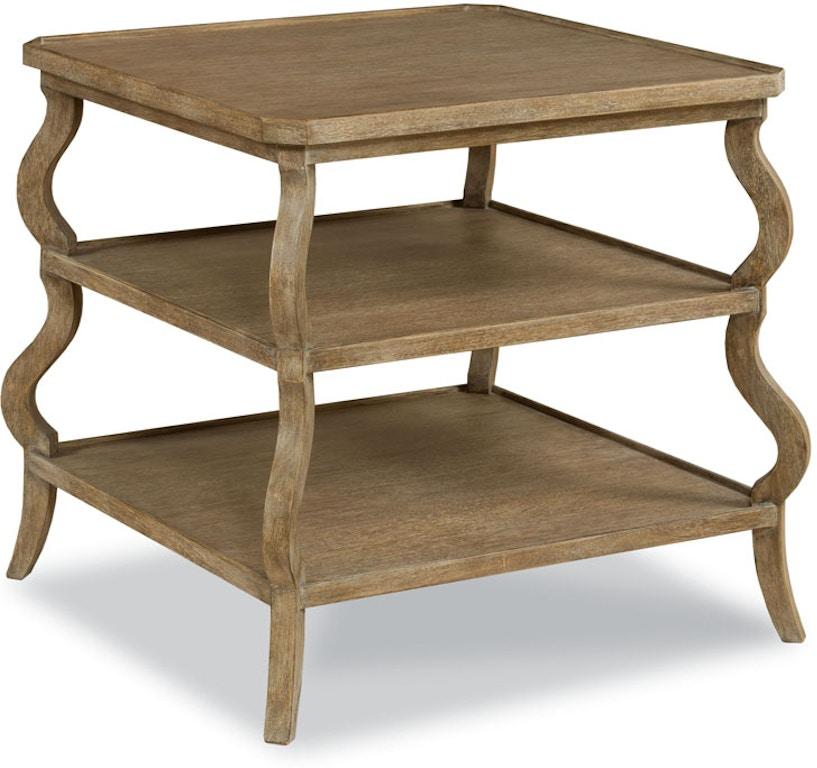 Excellent Woodbridge Furniture Living Room Vintage Tiered Side Table Machost Co Dining Chair Design Ideas Machostcouk