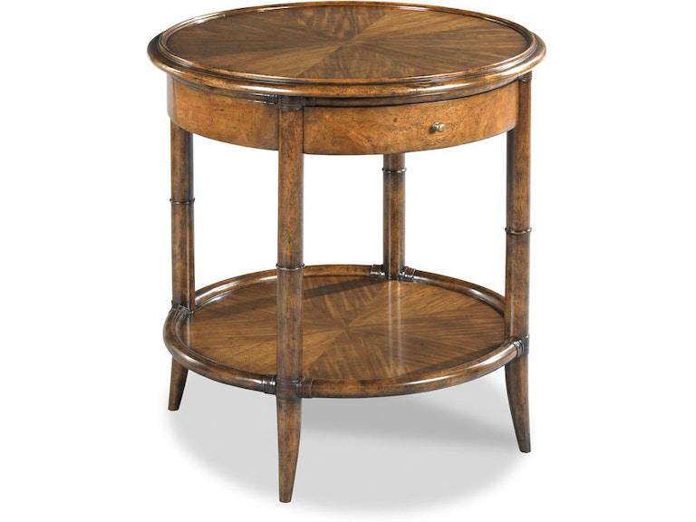 Woodbridge Furniture Living Room Linwood Side Table 1218
