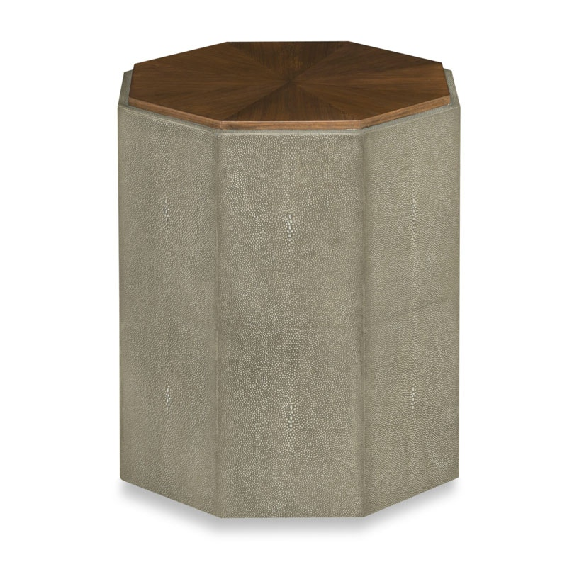 Woodbridge Furniture Savoye Shagreen Spot Table 1236 21