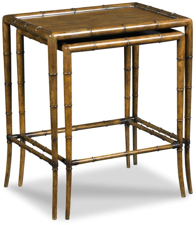 Woodbridge Furniture Living Room Linwood Nest Of Tables