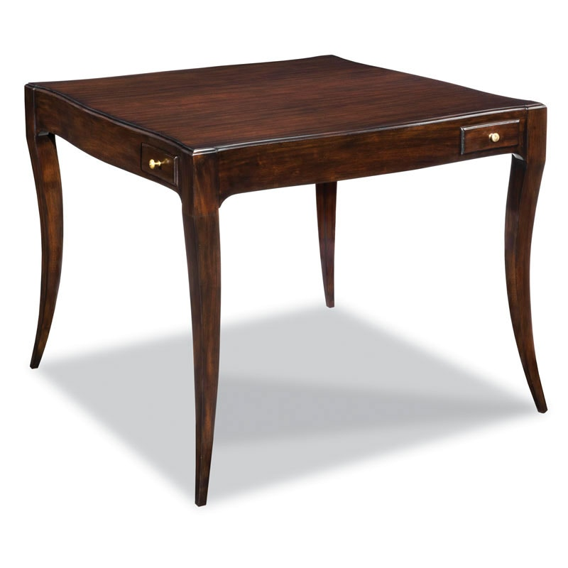 Awesome Woodbridge Furniture Addison Game Table 5048 14