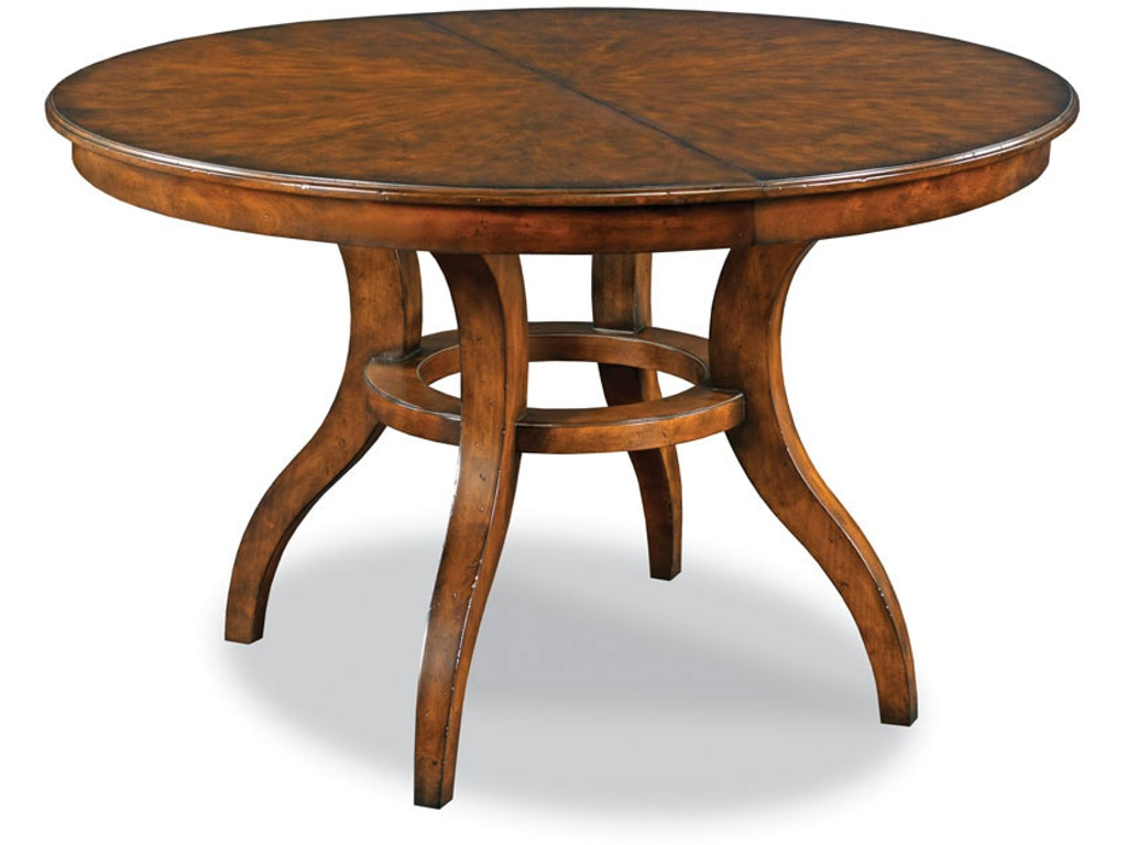 Woodbridge furniture dining room camden dining table 5065 for 10 dining table