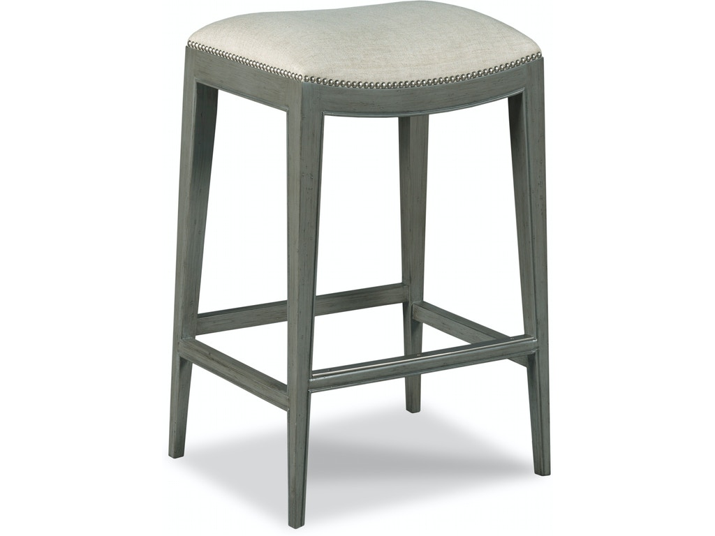 Hickory Chair Dining Room Madigan Backless Counter Stool