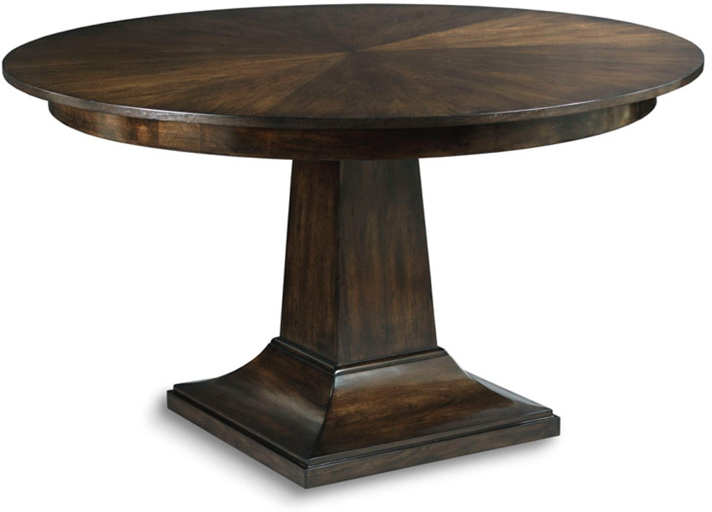 Fabulous Woodbridge Furniture Dining Room Parker Pedestal Table Tf503 Interior Design Ideas Philsoteloinfo