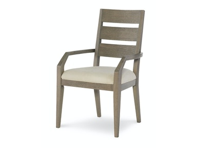 Rachael Ray Home by Legacy Classic Furniture Ladder Back Arm Chair 6000-141 KD