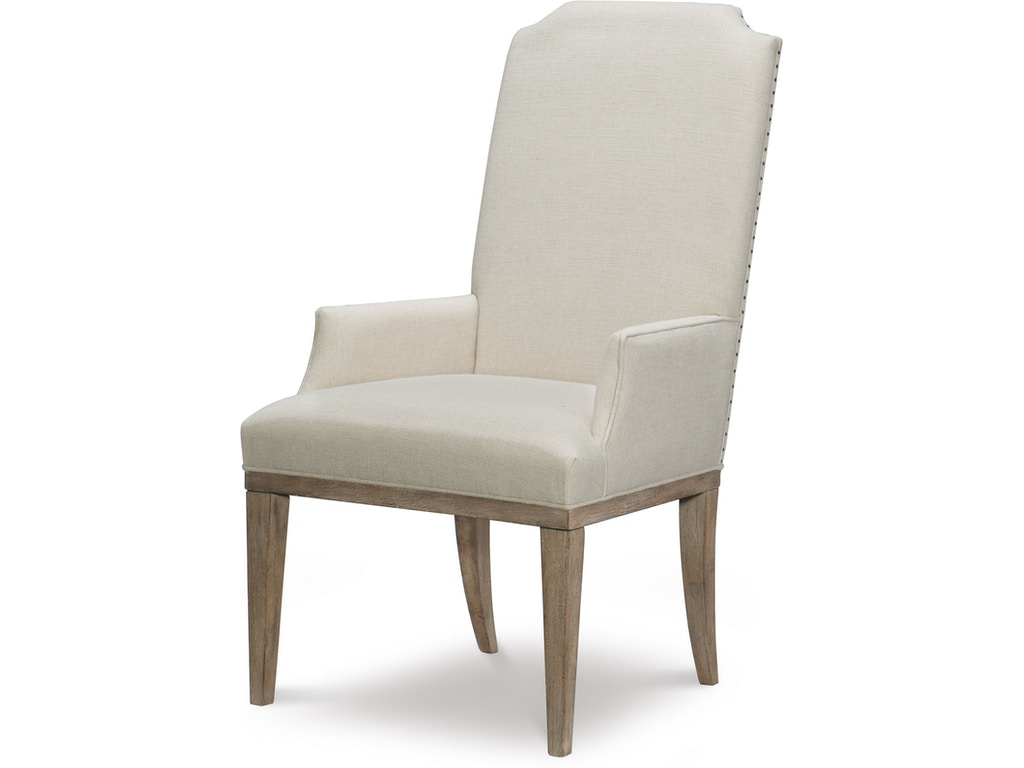 Rachael Ray Home By Legacy Classic Furniture Dining Room Upholstered Host  Arm Chair QL7500451KD Walter E. Smithe Furniture + Design