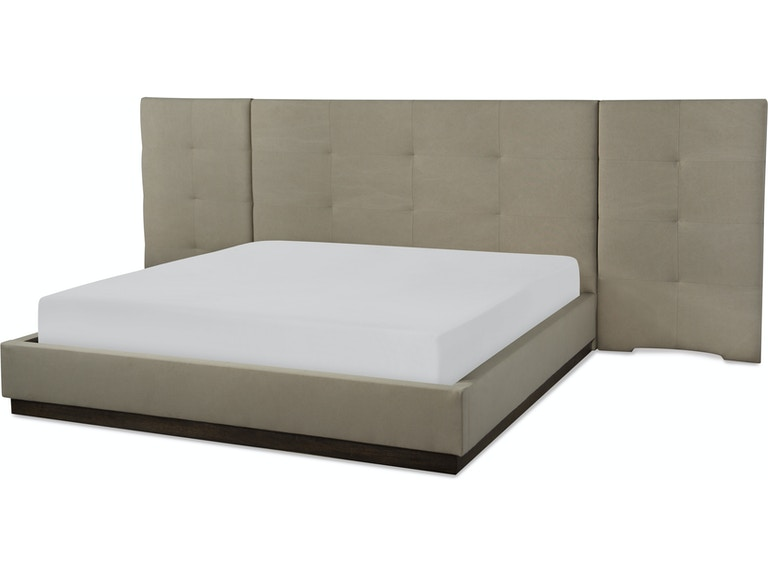 Complete Upholstered Wall Bed King Qln81004716k