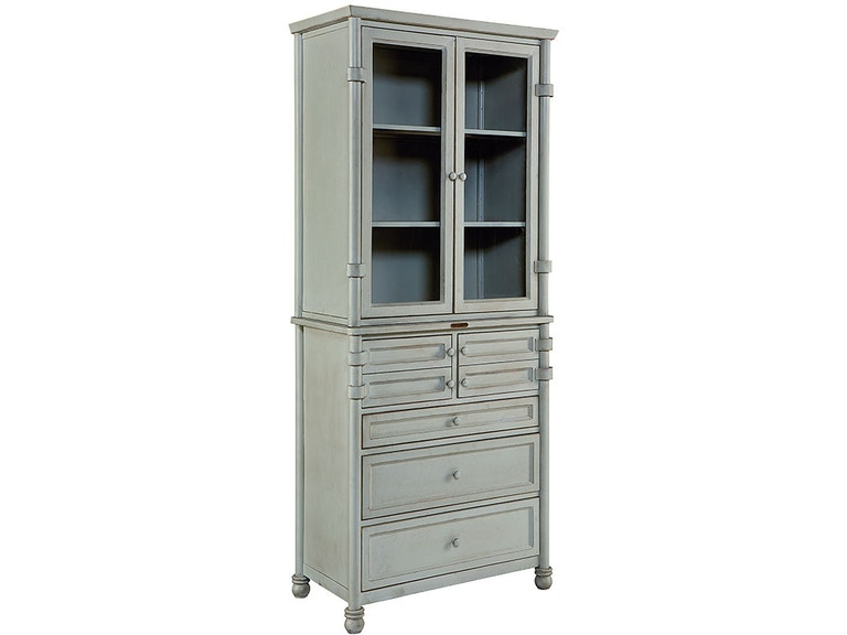 Magnolia Home By Joanna Gaines Dining Room Cabinet Metal Dispensary W Glass Doors Base 1010733GG At Treeforms Furniture Gallery