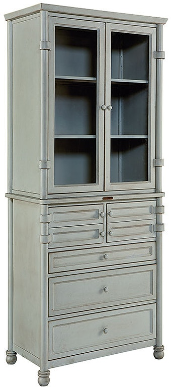Magnolia Home By Joanna Gaines Dining Room Cabinet Metal Dispensary W Glass Doors Hutch 1010732GG At Treeforms Furniture Gallery