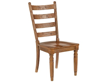 Magnolia Home by Joanna Gaines Chair, Side, Slat Back 2010604I