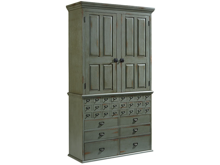Magnolia Home By Joanna Gaines Office Armoire Card Catalog Base 2010722z At Gilliam Thompson Furniture