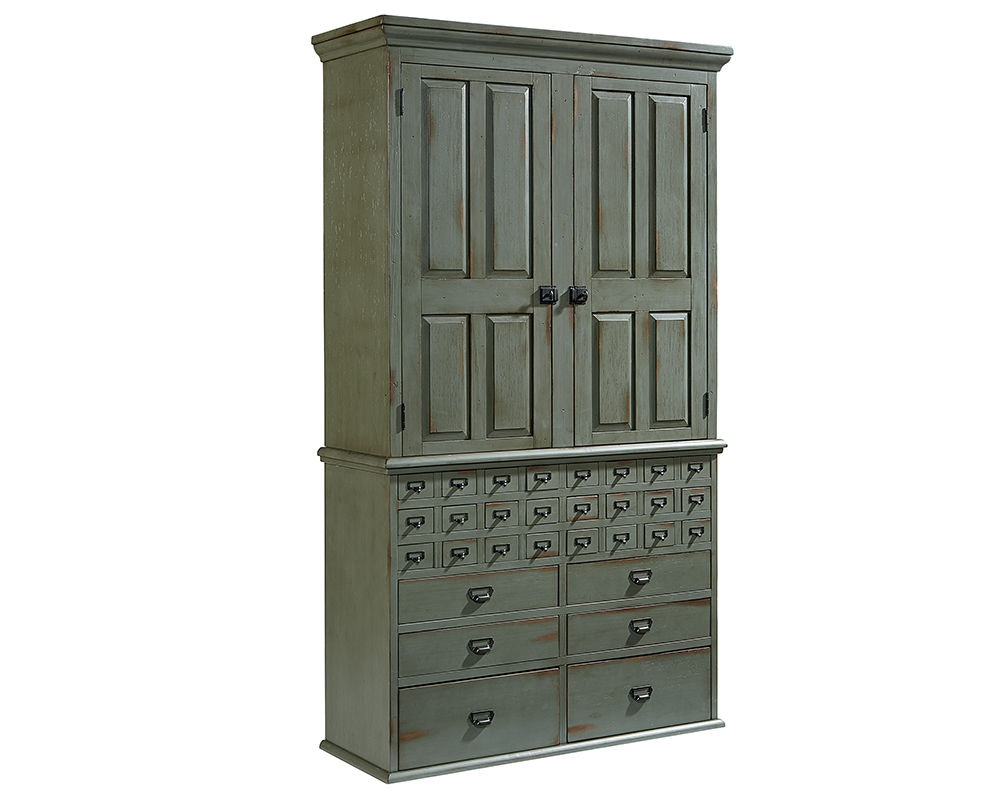 home office armoire. Magnolia Home By Joanna Gaines Office Armoire, Card Catalog, Base 2010722Z At B.F. Myers Furniture Armoire