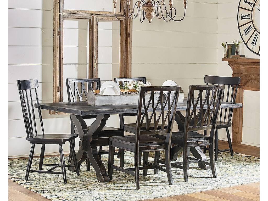 Magnolia Home By Joanna Gaines Table Dining Sawbuck 2010801DB