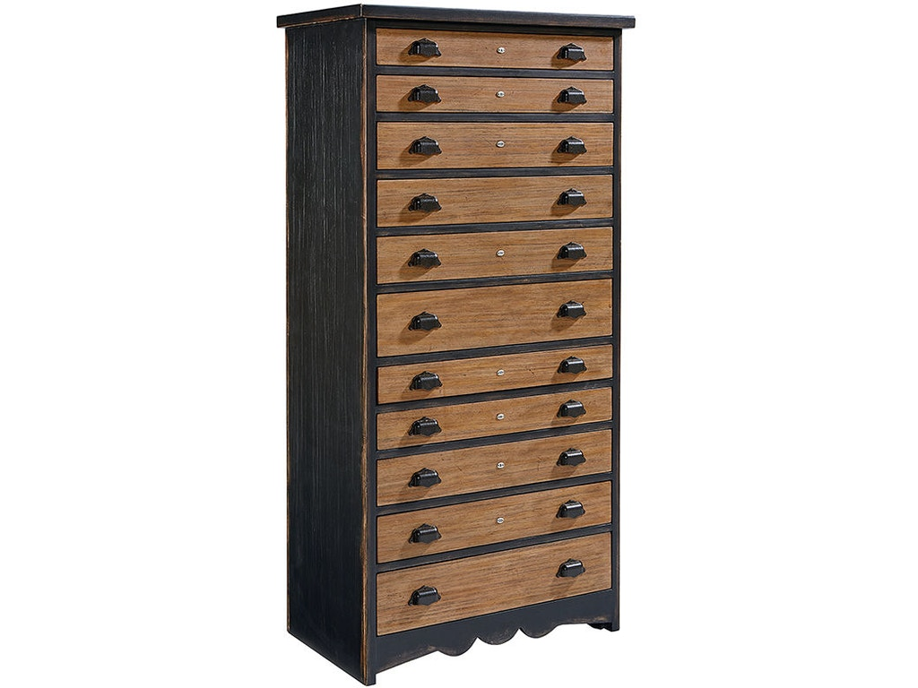 Magnolia Home By Joanna Gaines Bedroom Chest Library 2070525i Treeforms Furniture Gallery