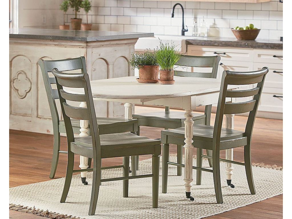 Magnolia Home By Joanna Gaines Table Windsor Oval W Drop Leaf 4010401DW