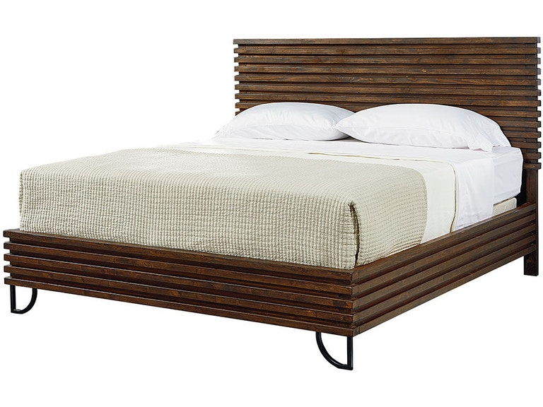 Magnolia Home By Joanna Gaines Bedroom Footboard 5 0 W Slats Stacked Slat 5070103N At Treeforms Furniture Gallery