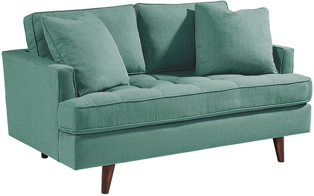 Magnolia Home by Joanna Gaines Living Room MCM Loveseat ...
