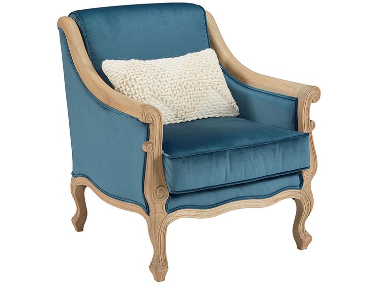 Magnolia Home By Joanna Gaines Living Room Accent Chair Navy 771170