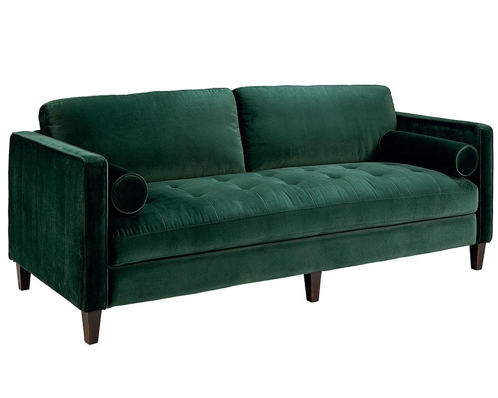 Magnolia Home By Joanna Gaines Dapper Sofa, Emerald 55520301