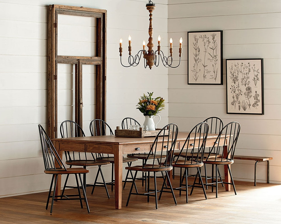 Magnolia Home By Joanna Gaines Dining Room 7 Keeping Dining Table 6010111b Simply Discount