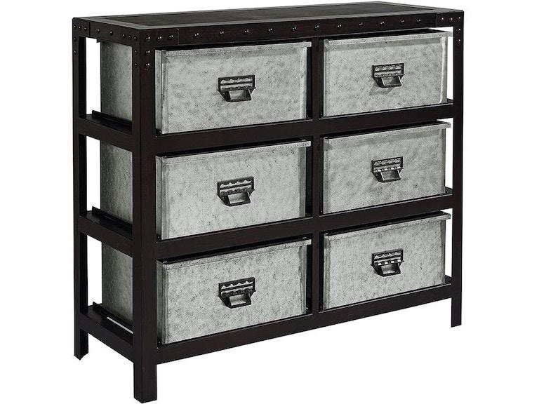 Dresser With Storage Bins
