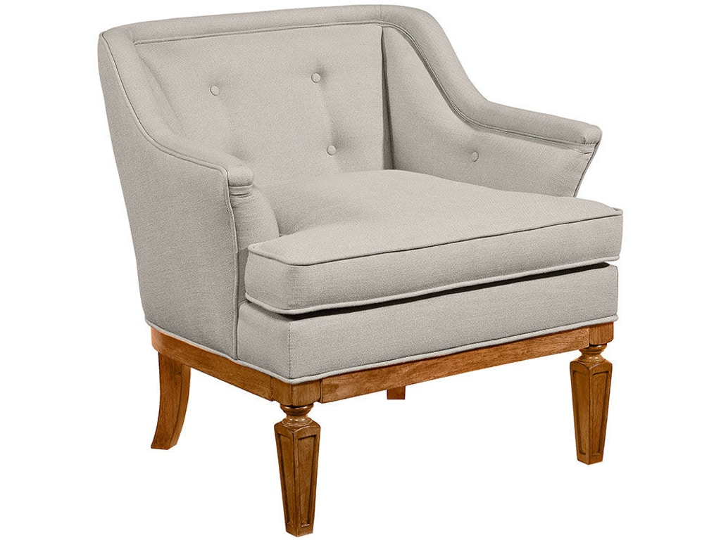 Magnolia Home By Joanna Gaines Living Room Chair Cotillion Flannel 80602010 Treeforms