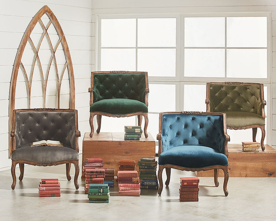 Magnolia Home by Joanna Gaines Living Room Chair, Bloom ...