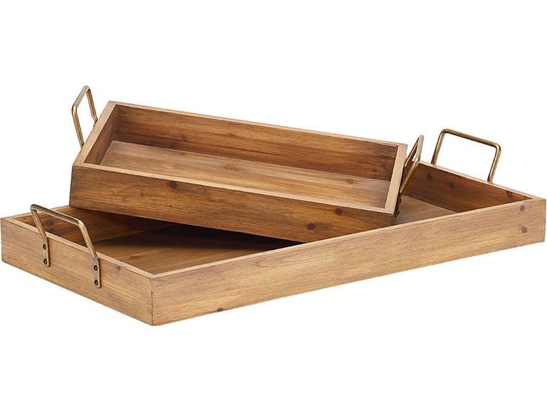 Magnolia Home By Joanna Gaines Breakfast Tray W Metal Handle 90902003