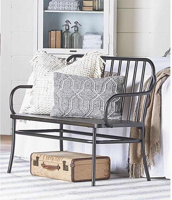 Magnolia Home Furniture Park Bench