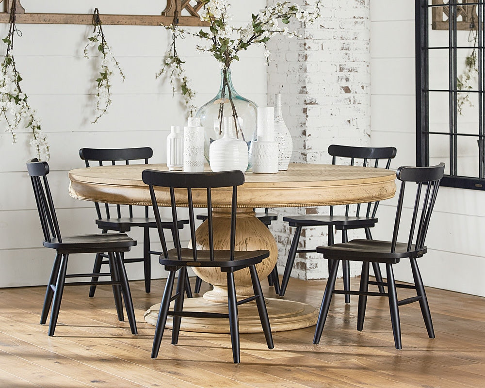 Superior Magnolia Home By Joanna Gaines Table, Belgian Breakfast, Base 3010501Y