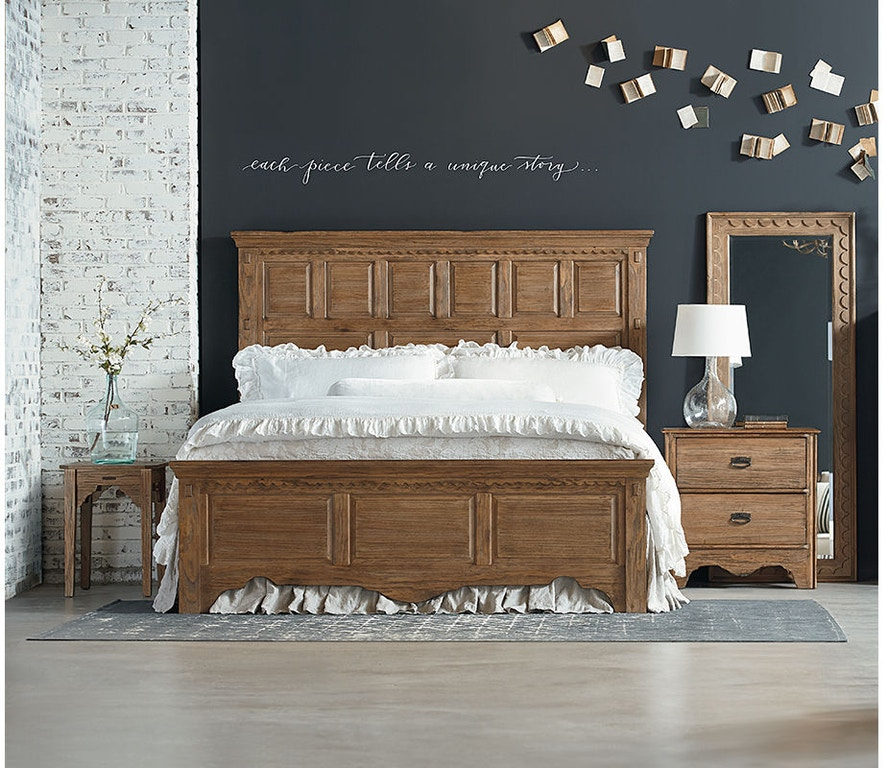 Magnolia home by joanna gaines bedroom footboard 6 0 6 6 - Joanna gaines bedding collection ...