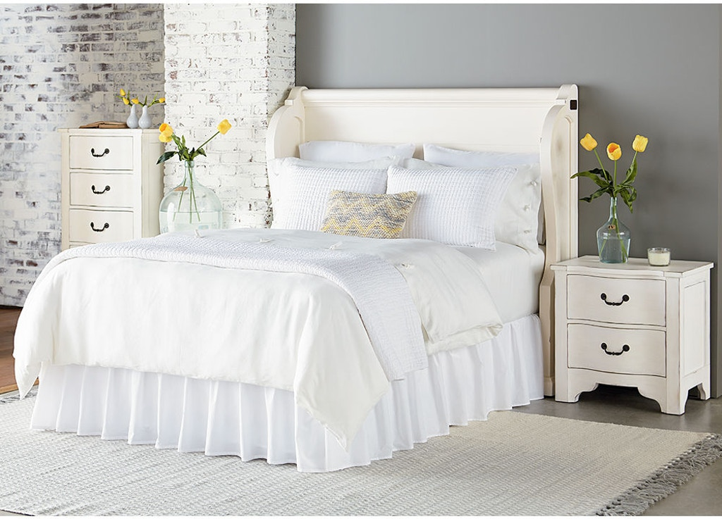Magnolia home by joanna gaines bedroom church pew queen - Joanna gaines bedding collection ...