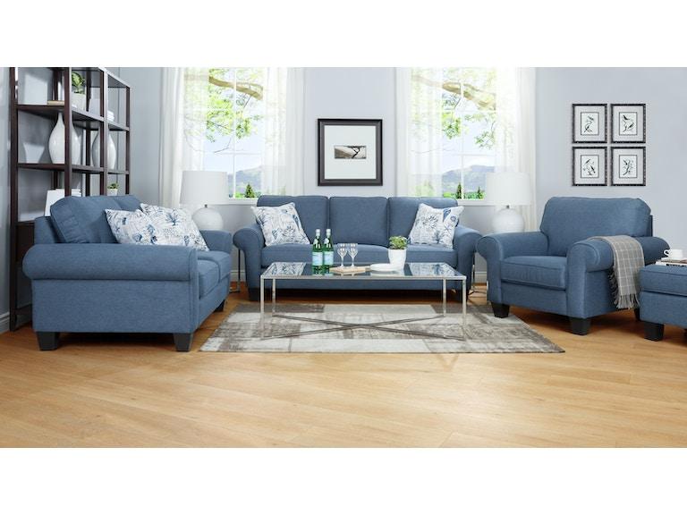 Decor Rest Living Room 2323 Ottoman Mclaughlins Home Furnishing Designs Southgate Novi And