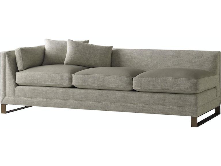 Baker Furniture Barbara Barry Surround One Arm Sofa 6734so