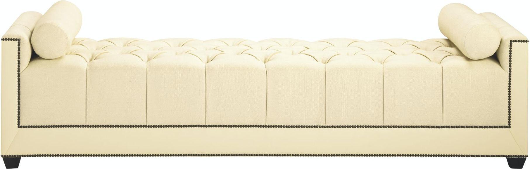 Baker Furniture 6369 85 Living Room Thomas Pheasant Paris Chaise Lounge