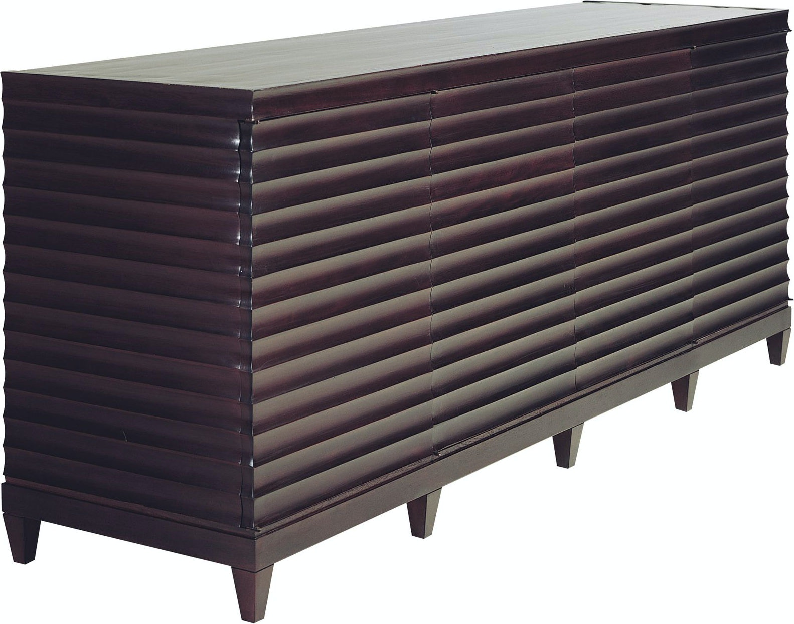 Baker Furniture Barbara Barry Fluted Low Cabinet 3400
