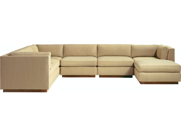 Baker Furniture Barbara Barry Sectional Ottoman 857 11