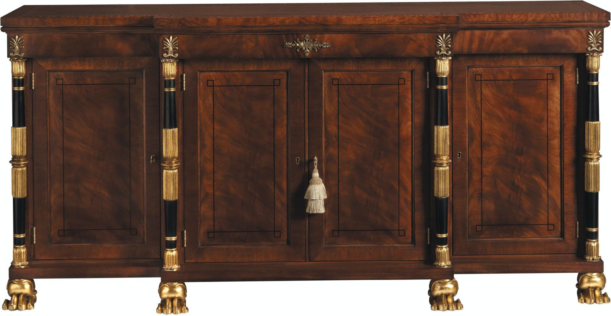 Baker Furniture Stately Homes Breakfront Cabinet With Baker Furniture  Hickory Nc.