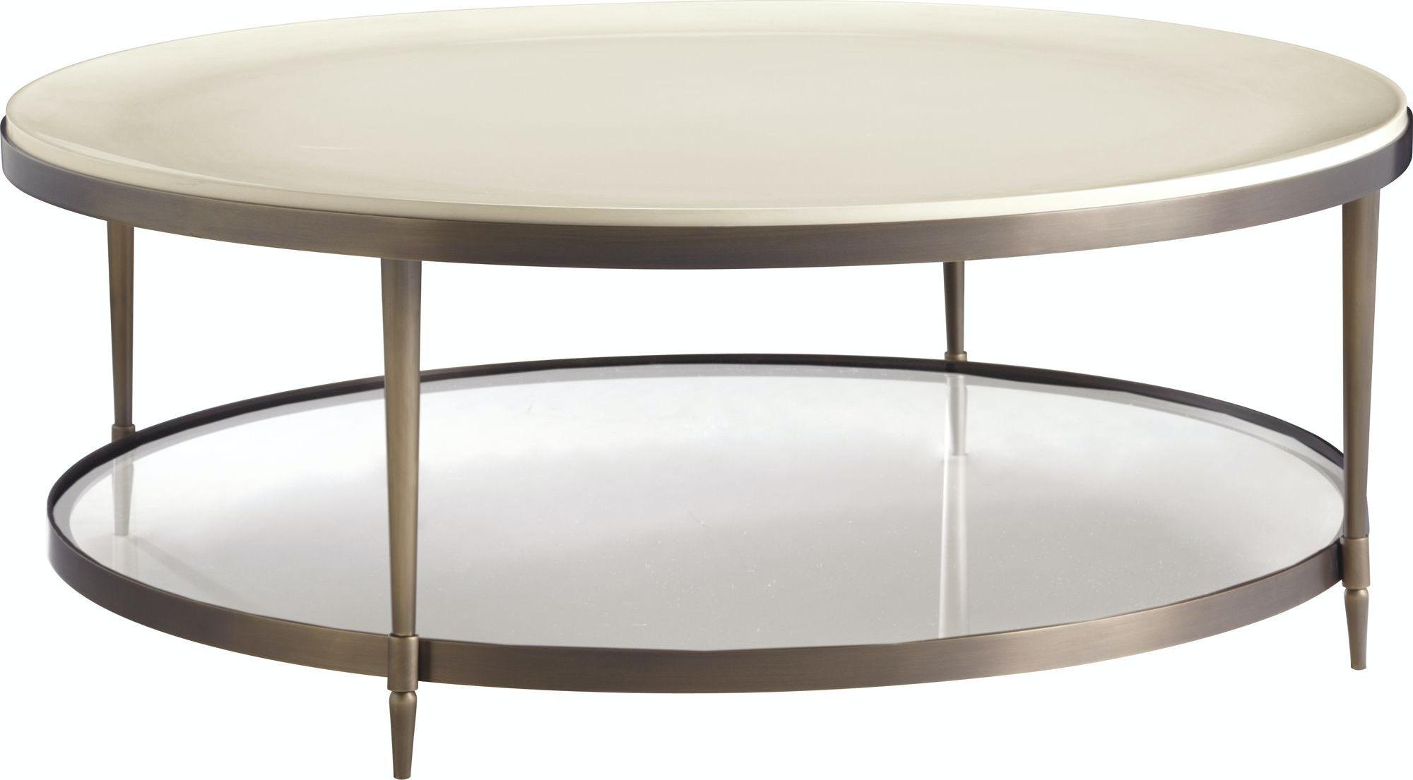 Baker Furniture 3651 Living Room Barbara Barry Oberon Cocktail Table