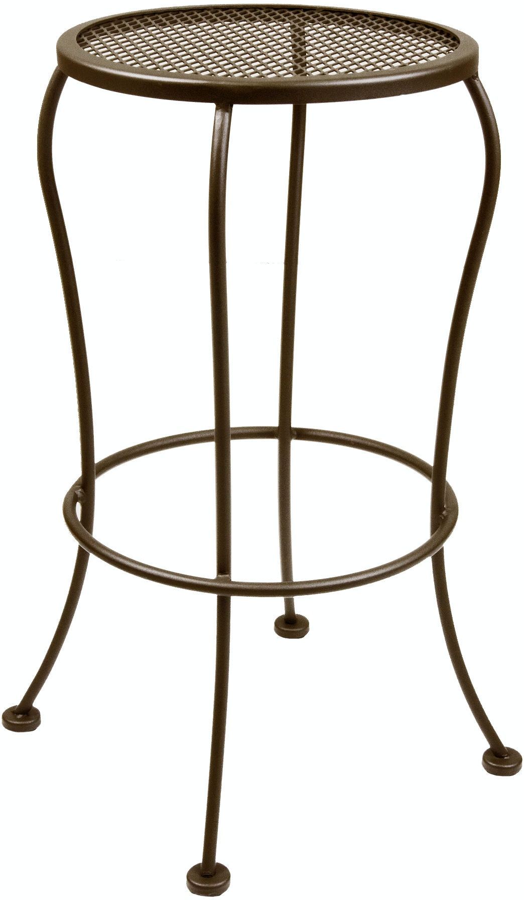 Ow Lee Outdoor Patio Backless Bar Stool 12 Mbs Zing
