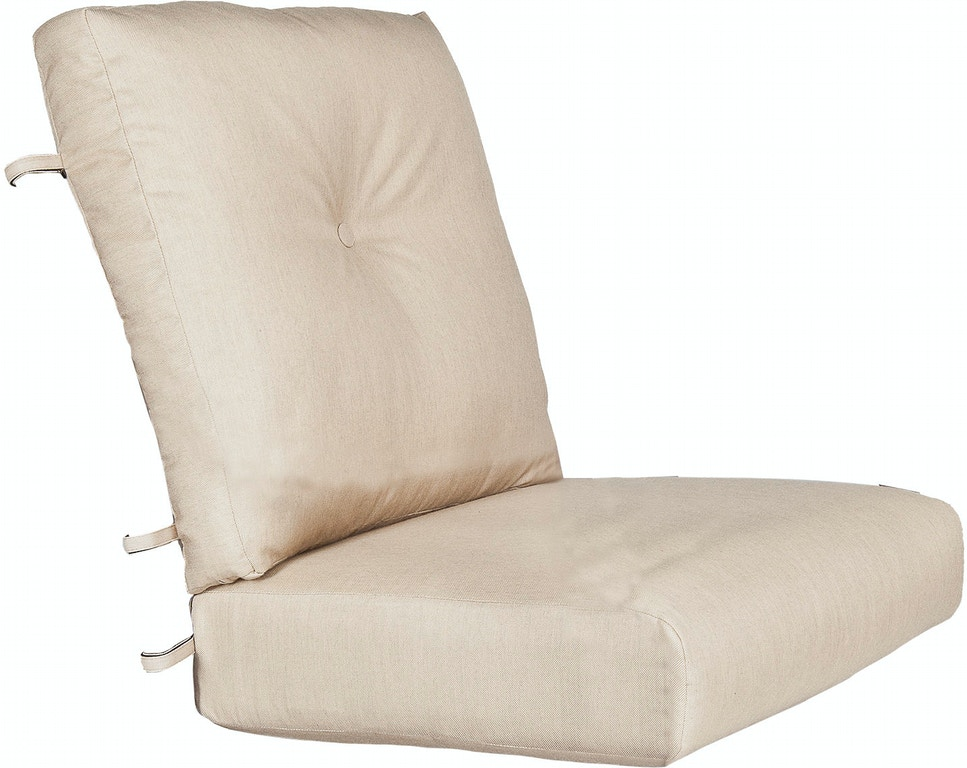 Ow Lee Outdoor Patio Plushcomfort Seat And Hi Pillow Back