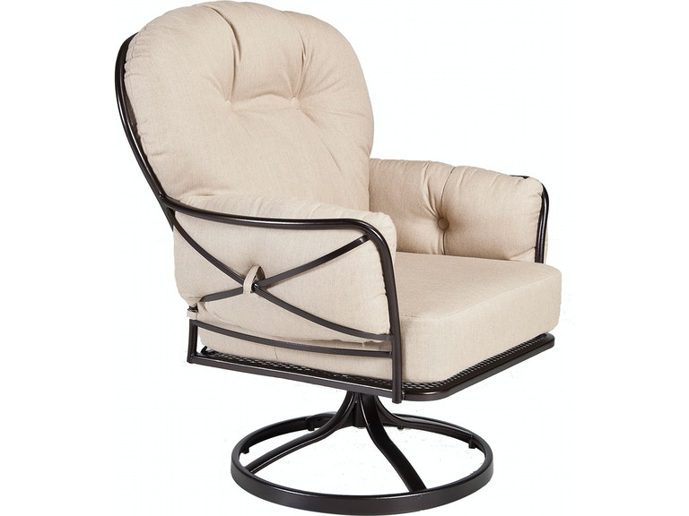 Ow Lee Outdoor Patio Swivel Rocker Lounge Chair 17135 Sr