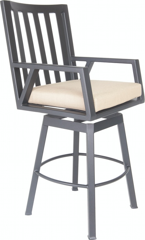 Ow Lee Outdoor Patio Swivel Bar Stool 2733 Sbs Zing