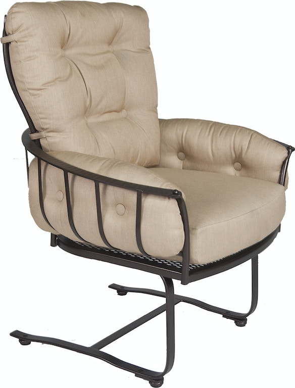 Ow Lee Outdoor Patio Mini Spring Base Lounge Chair 424 Msb