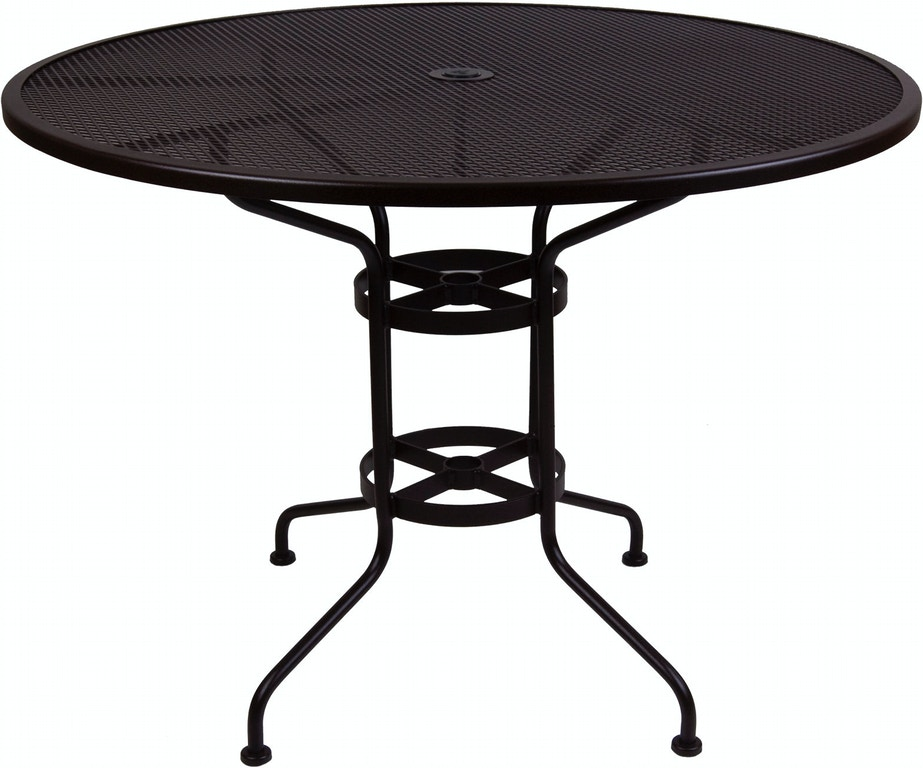 Sensational Ow Lee Outdoor Patio Counter Table With 2 Umbrella Hole 48 Download Free Architecture Designs Viewormadebymaigaardcom