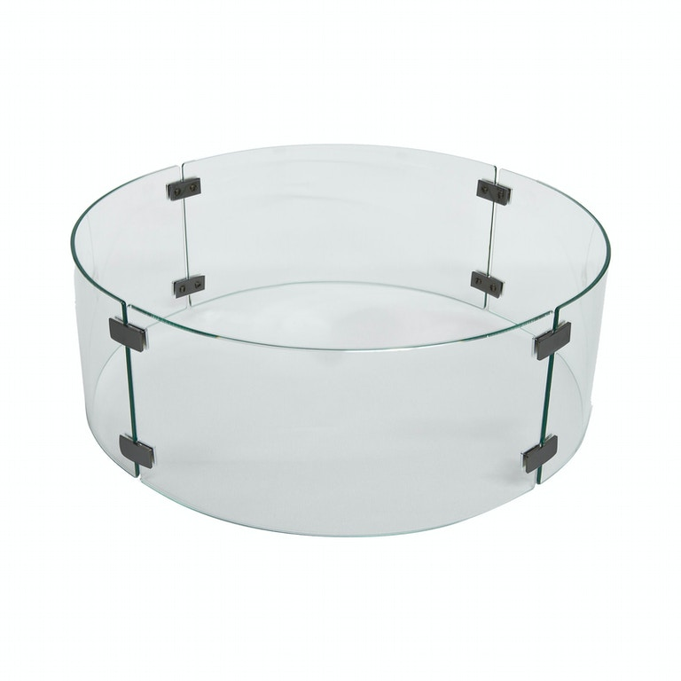 Ow Lee Outdoor Patio Extra Small Round Glass Guard 5482 16rd