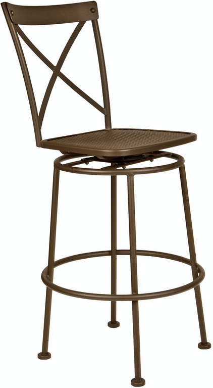 Ow Lee Outdoor Patio Villa Swivel Pub Stool 516 Sps Zing
