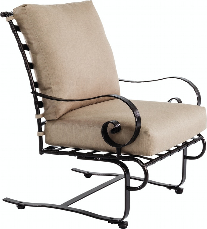 Ow Lee Outdoorpatio Mini Spring Base Lounge Chair 9142 Msb